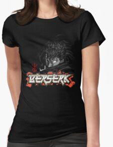 Berserk - Guts Glowin Eye Large Womens Fitted T-Shirt