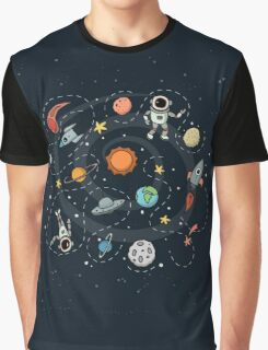 Outer Space Graphic T-Shirt
