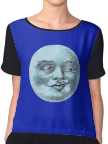 Blue Moon Chiffon Top
