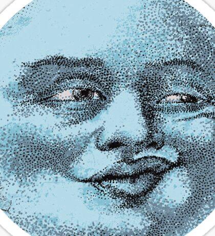 Blue Moon Sticker