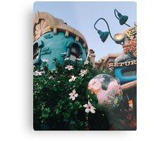 Toontown Flowers Metal Print
