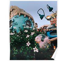 Toontown Flowers Poster
