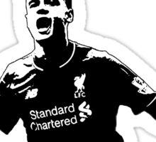 Coutinho - Little Magician - Liverpool Sticker