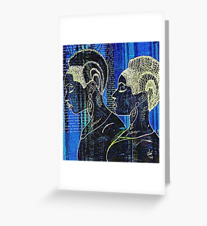 Sisters of the Night Greeting Card