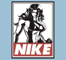 She-Hulk Nike Obey Design One Piece - Short Sleeve
