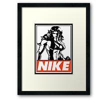 She-Hulk Nike Obey Design Framed Print