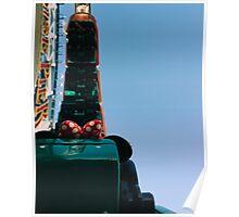 Upside Down California Sreamin' Poster