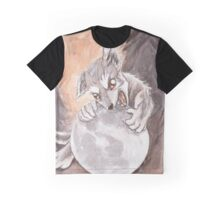 Werewolf Puppy Watercolor Painting Graphic T-Shirt