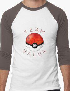 Team Valor- Pokeball Men's Baseball ¾ T-Shirt