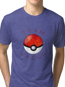 Team Valor- Pokeball Tri-blend T-Shirt
