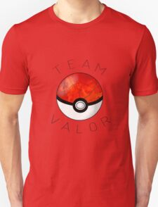 Team Valor- Pokeball Unisex T-Shirt