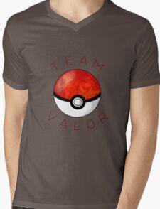 Team Valor- Pokeball Mens V-Neck T-Shirt