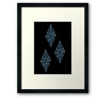 Ornate Rarity Cutie Mark Framed Print