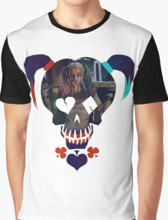 Harley Quinn - Daddy's Lil Monster Graphic T-Shirt