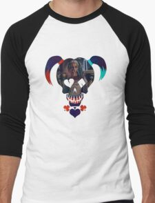 Harley Quinn - Daddy's Lil Monster Men's Baseball ¾ T-Shirt