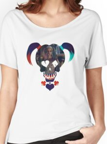 Harley Quinn - Daddy's Lil Monster Women's Relaxed Fit T-Shirt