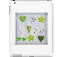 Spring Hearts iPad Case/Skin