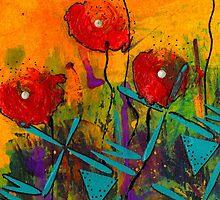 Poppies II by © Angela L Walker