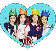 Red Velvet Kpop Girl Group by agShop