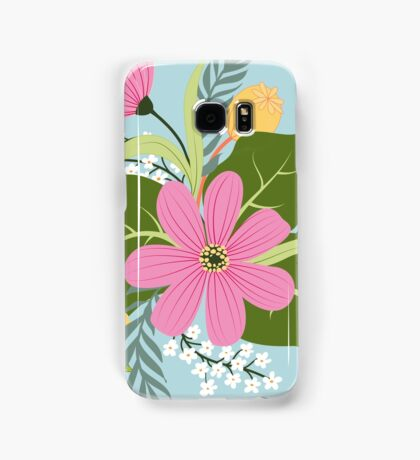 Blooming colorful composition Samsung Galaxy Case/Skin