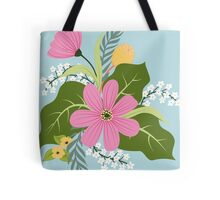 Blooming colorful composition Tote Bag