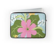 Blooming colorful composition Laptop Sleeve