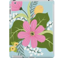 Blooming colorful composition iPad Case/Skin