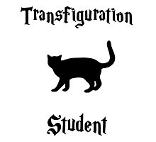 Transfiguration Student- Hogwarts Core Classes Photographic Print