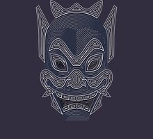 Ornate Blue Spirit Mask Unisex T-Shirt