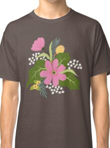 Blooming colorfull composition Classic T-Shirt
