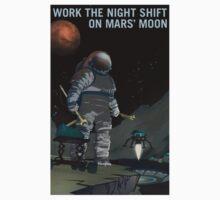 Nasa Mars Recruiting Poster - Night Shift One Piece - Short Sleeve