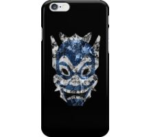 Blue Spirit Splatter iPhone Case/Skin