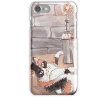 Frankenkitty in the Lab iPhone Case/Skin