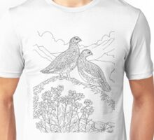 Meadow Chicken ,  Color Project.  Unisex T-Shirt