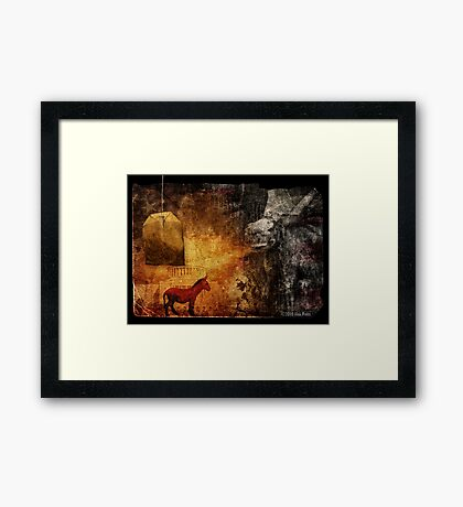 Hell, Yes! Framed Print