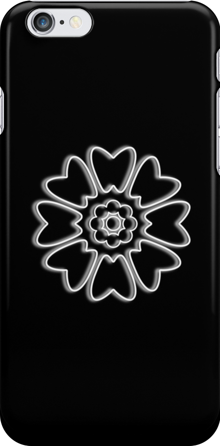 Minimalist White Lotus by Colossal