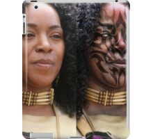 Tribal Tattoo Make Up iPad Case/Skin