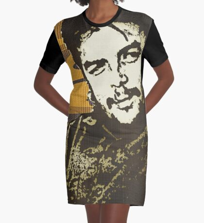 CHE GUEVARA-CAMO Graphic T-Shirt Dress