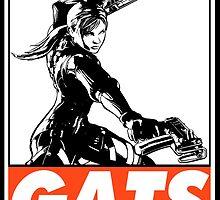 Jill Gats Obey Design by SquallAndSeifer