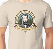 Henry David Thoreau Quote Unisex T-Shirt