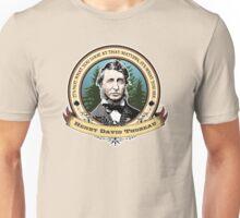 Henry David Thoreau Quote Unisex T-Shirt