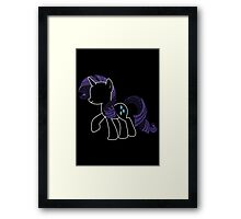 Sprayed Rarity Framed Print