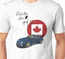 RWB Royal Ocean No. 1 Canada with signature Unisex T-Shirt