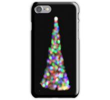 Bokeh Christmas Tree iPhone Case/Skin