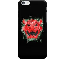 Bowser Emblem Splatter iPhone Case/Skin