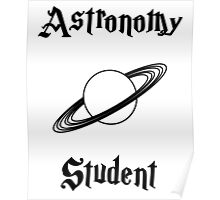 Astronomy Student- Hogwarts Core Classes Poster