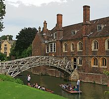 Mathematical Bridge, Cambridge by RedHillDigital