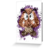 Goomba Splatter Greeting Card