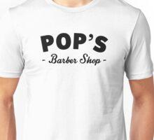 Pop's Barber Shop – Luke Cage, Harlem Unisex T-Shirt