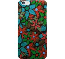 Retro Trendy Floral Pattern iPhone Case/Skin